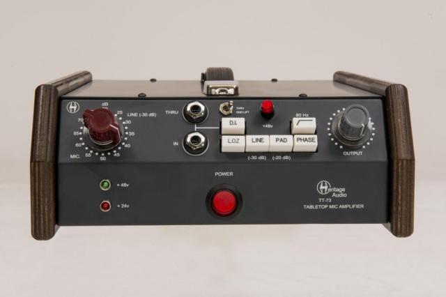 Heritage Audio Tabletop 73