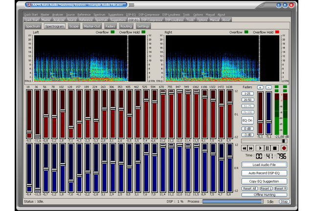 AAMS Auto Audio Mastering System