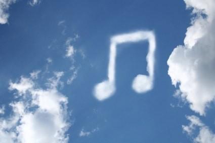 Música en la nube