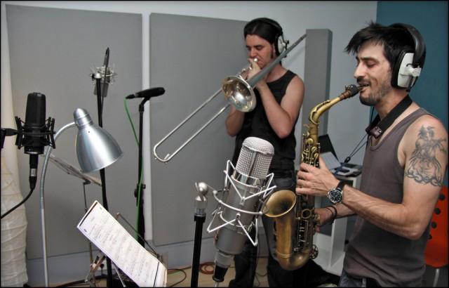 Grabación de jazz