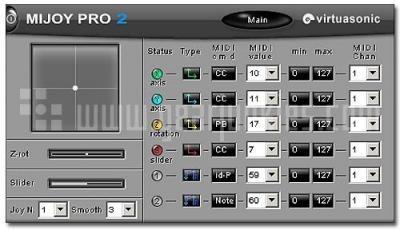 Virtuasonic MIJOY Pro 2