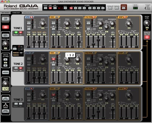 GAIA Synthesizer Sound Designer