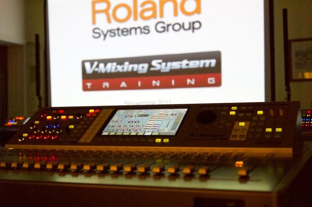 Roland Training Tour