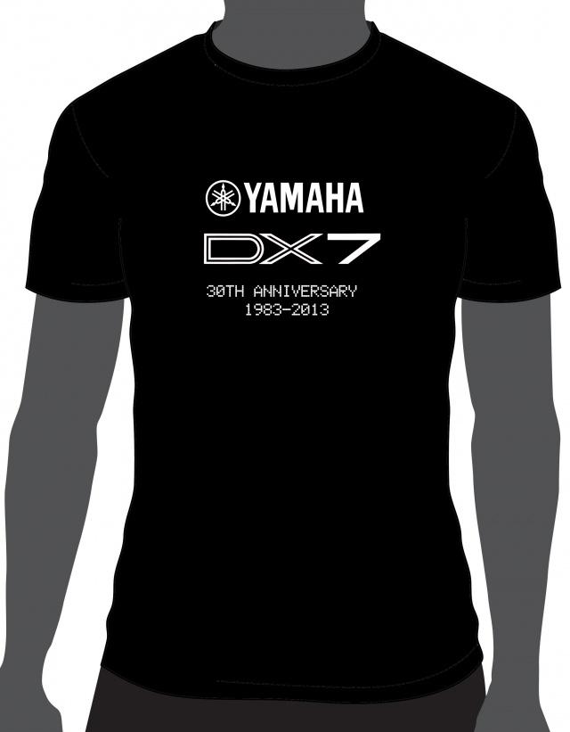 Camiseta Yamaha DX7 30 aniversario