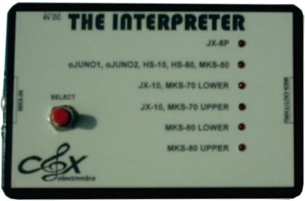 Cox Electronics Interpreter