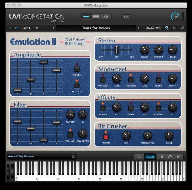 UVI Emulator-II