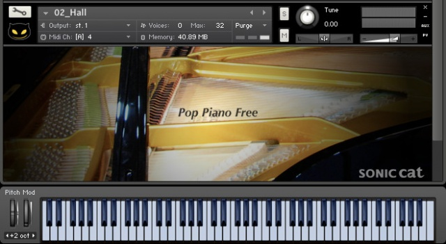 Sonic Cat Pop Piano