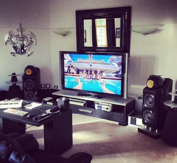 Home Studio Kim Dotcom