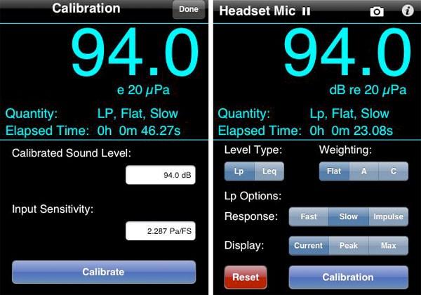 Soundmeter iPhone