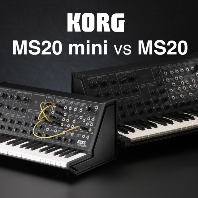 Evento Korg MS-20 Mini vs Korg MS-20 en Barcelona
