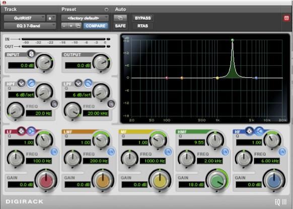 EQ III Pro Tools