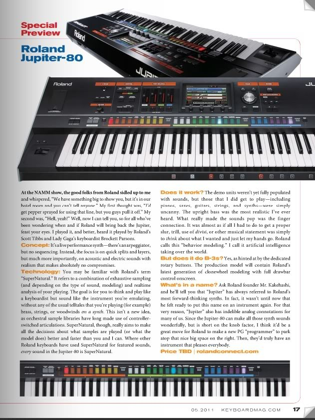 Roland Jupiter 80