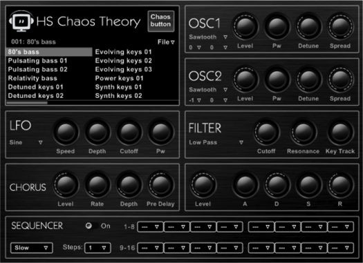 Hispasonic Chaos Theory