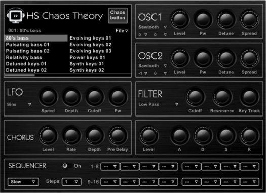 Hispasonic Chaos Theory