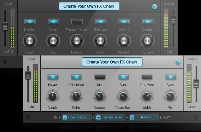SONAR X1 Expanded Chains