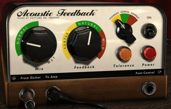Acoustic Feedback Deluxe de Softube