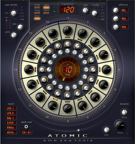 AlgoMusic Atomic