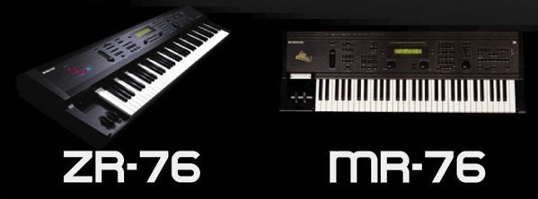 Ensoniq ZR-76 y MR-76