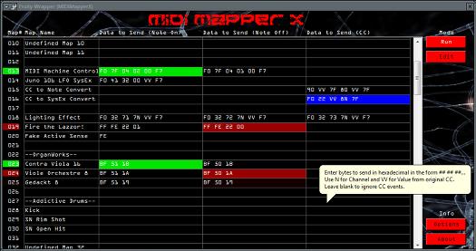 MIDI Mapper X