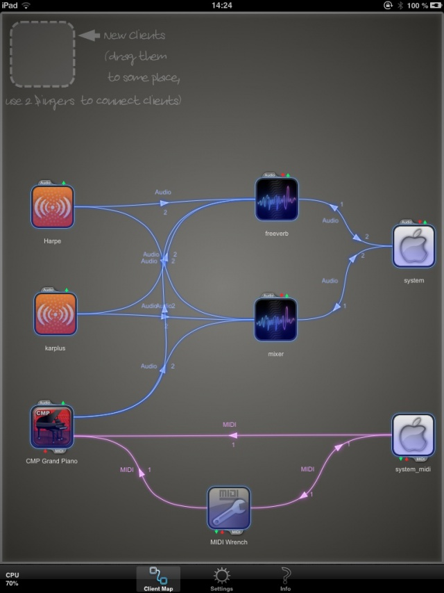 JACK para iOS