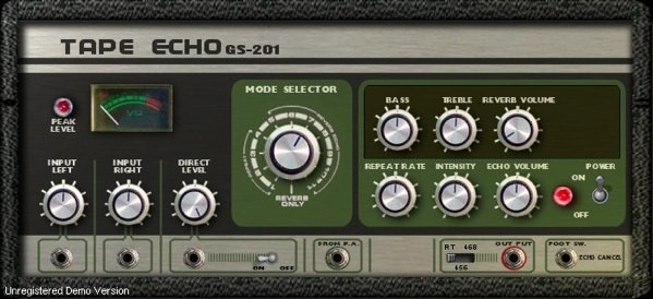 Tape Echo GS-201 - Roland Space Echo