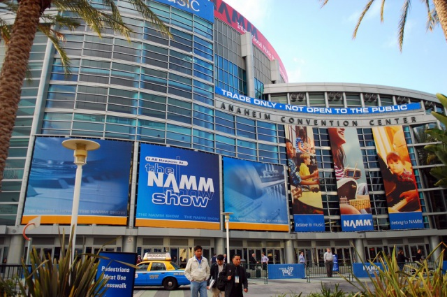 NAMM Show Anaheim Convention Center