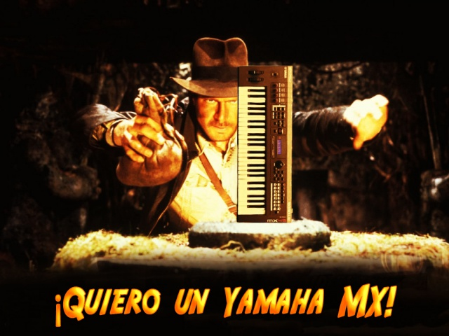Indiana Jones Yamaha MX
