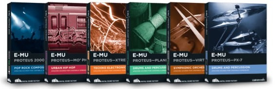 Cakewalk E-MU Proteus Pack