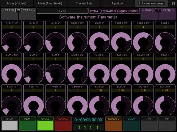 TouchOSC Instrumento