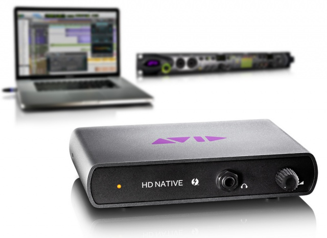 Pro Tools|HD Native Thunderbolt