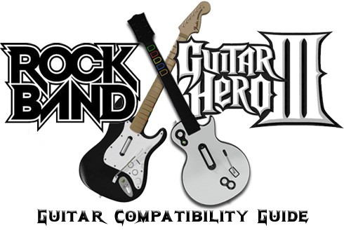 guitar hero rock band wii