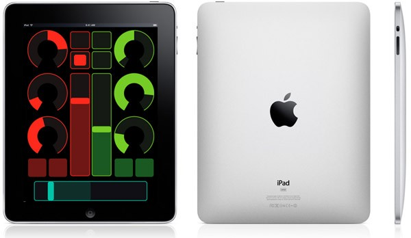 Apple iPad con OSC