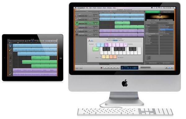 Garageband en iMac e iPad