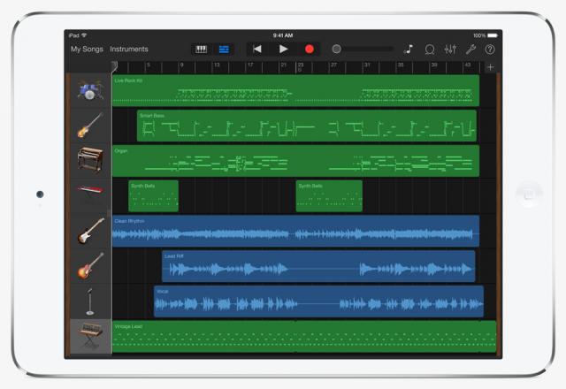 garageband para iOS