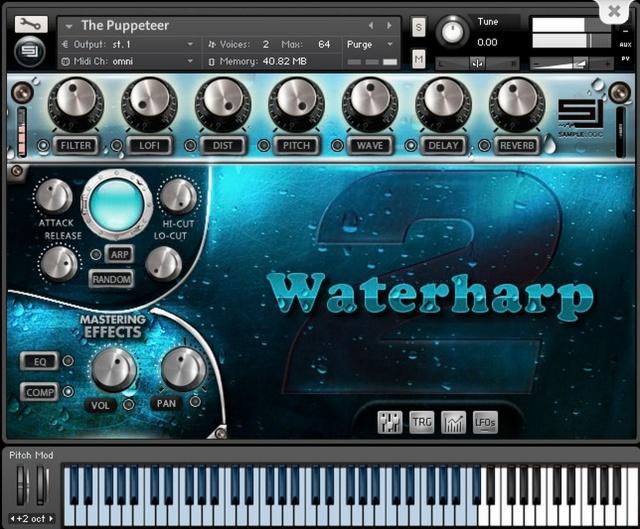 Waterharp 2