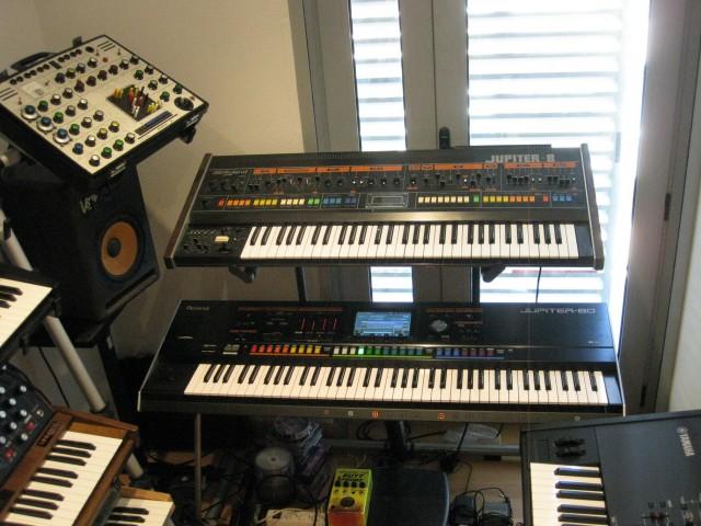 Roland Jupiter 8 y Jupiter 80