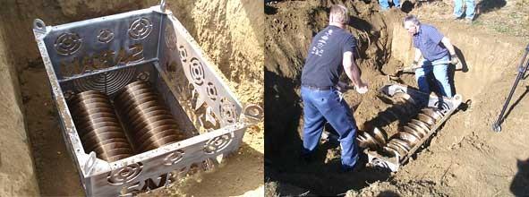 Enterrando los platillos
