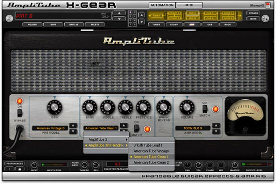 AmpliTube X-Gear