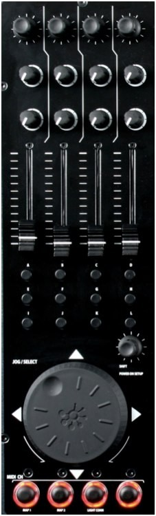 Control Midi Xone:4D