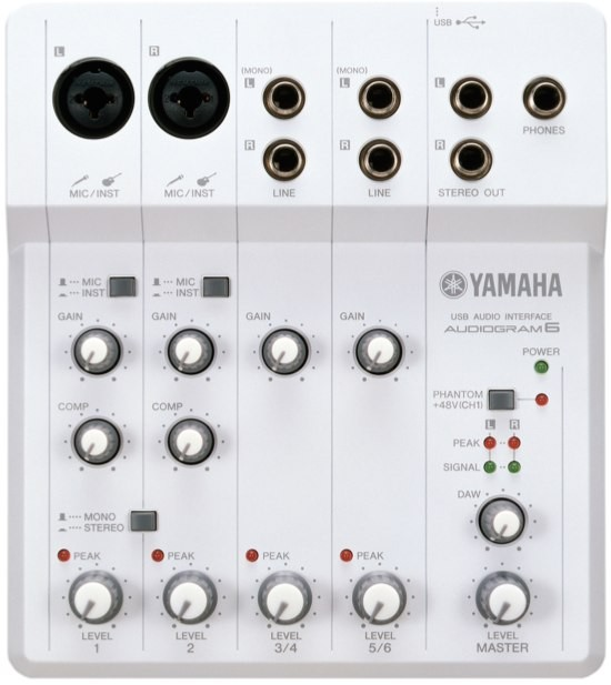 Yamaha Audiogram 6