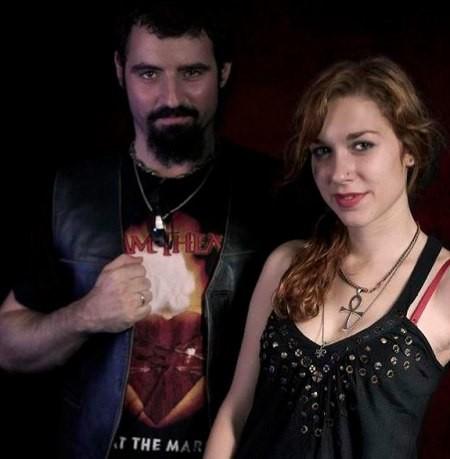 Manuel Belial y Sara Mateos