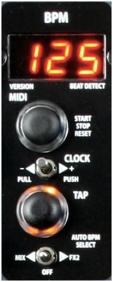 Control BPM - Xone:4D