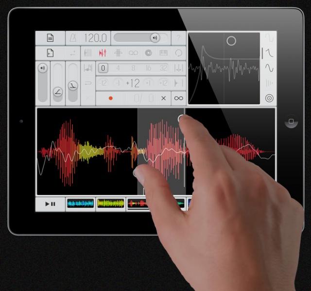 Samplr para iPad