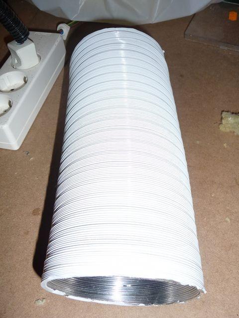 tubo de ventilación