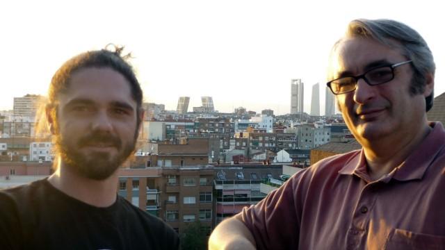 Jaime Llanos y Paco Trinidad