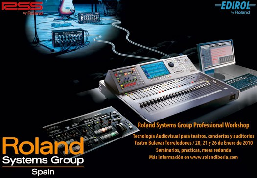 Workshop Roland