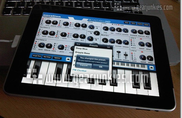 Novation V-Station para iPad