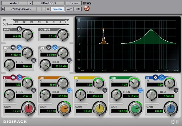 EQ Digidesign