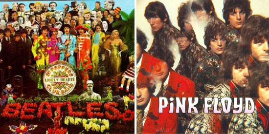 The Beatles y Pink Floyd