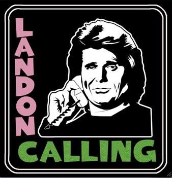 michael landon the clash london calling